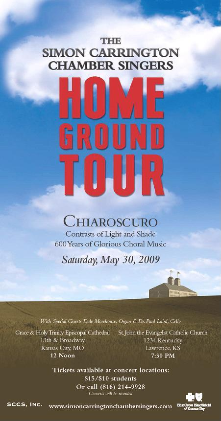 May 2009 Concert Poster